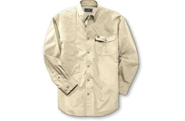 Beretta Shirt TM Shooting, Long Sleeve, Tan, Med LU19756108M