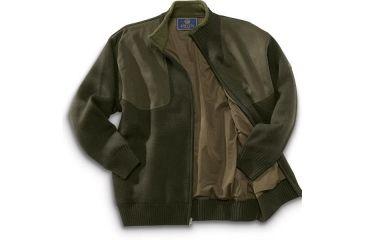 Beretta Sweater Wind Barrier Lining, Long Zip PU33701975M