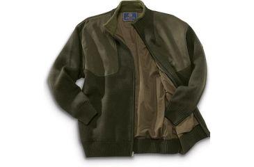 16-Beretta Wind Barrier Sweater w/ Fleece Lining and Full Length Zipper