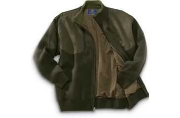 1-Beretta Wind Barrier Sweater w/ Fleece Lining and Full Length Zipper