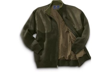 4-Beretta Wind Barrier Sweater w/ Fleece Lining and Full Length Zipper