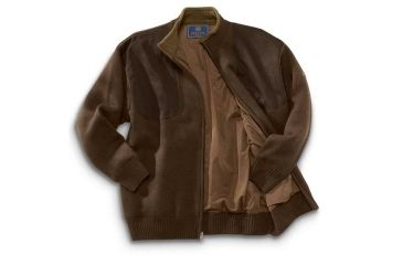 9-Beretta Wind Barrier Sweater w/ Fleece Lining and Full Length Zipper