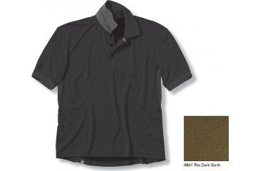 Beretta Tactical Polo Shirt, Flat Dark Earth, Small MP267251086YS