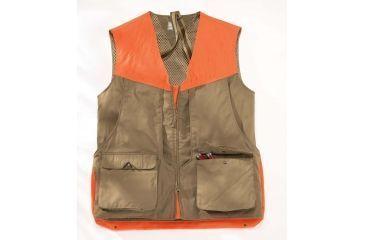 Beretta Upland Vest, Light Brown/ Orange, Medium GUX32587081GM
