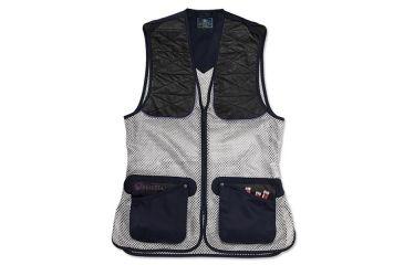Beretta Womans Ambidextrous Shooting Vest, Navy, Sm GT2300740504S