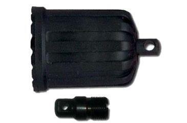 Beretta Xtrema Fore-end Cap w/ swivel stud and 1 Stock Stud, Black E8A157