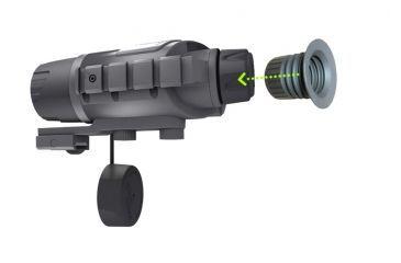 Bering Optics eXact Precision 2.6x44 Gen I Night Vision Monocular, Black, 7.2inX4.0inX2.5in BE16044