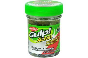 Berkley Gulp! Alive! Minnow Bait, 1in., Black Shad 176810