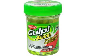 Berkley Gulp! Alive! Minnow Bait, 1in., Chartreuse Shad 176811