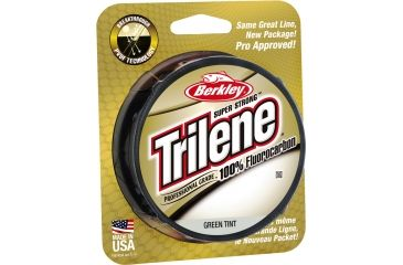 Berkley Trilene Fluorocarbon Professional Grade Filler Spool Line, 10 lb, 200 Yards, Green 179161