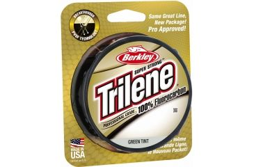 Berkley Trilene Fluorocarbon Professional Grade Filler Spool Line, 17 lb, 200 Yards, Green 179164