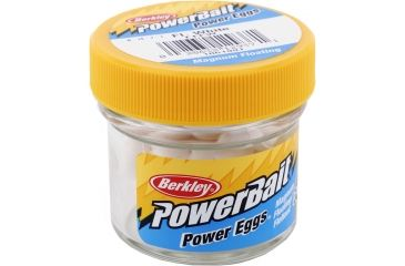 Berkley Trout/Salmon Power Eggs Floating Magnum Bait, White 176128