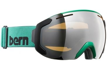 ab935bf75ac Bern Jackson Medium Frame Goggles-Hunter Green-Gold Light Mirror-Medium