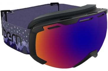 817a6cd5c72 Bern Scout Goggles-Purple Peaks-Blue Purple Mirror