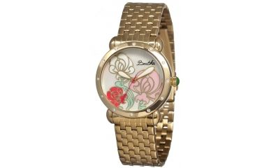 Bertha Josephine Ladies Watch, Gold Metal Band, Gold Bezel, Multicolor Analog Dial, Gold Hand BTHBR1502