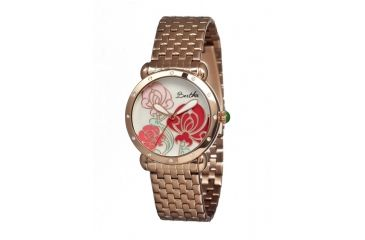 Bertha Josephine Ladies Watch, Rose Gold Metal Band, Rose Gold Bezel, Multicolor Analog Dial, Rose Gold Hand BTHBR1503