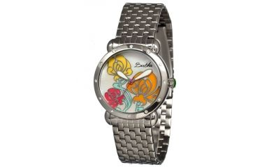 Bertha Josephine Ladies Watch, Silver Metal Band, Silver Bezel, Multicolor Analog Dial, Silver Hand BTHBR1501