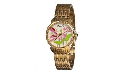 Bertha Stella Ladies Watch, Gold Metal Band, Gold Bezel, Multicolor Analog Dial, Gold Hand BTHBR1602