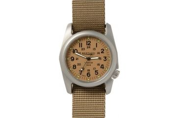 c3d06b254e63 Bertucci Watches A-2T Vintage Watch with US Khaki dial titanium case