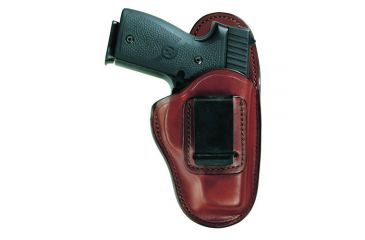 Bianchi 100 Professional Holster - Plain Tan, Left Hand 19235