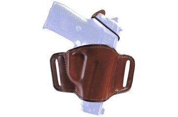 Bianchi 105 Minimalist with Slots Holster - Plain Black, Left Hand 19501