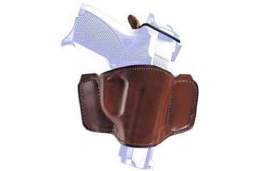 Bianchi 106 Minimalist with Snap Holster - Plain Tan, Left Hand 19261