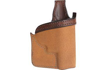 Bianchi 152 Pocket Piece Holster, Plain Tan, Right 25200