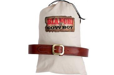 Bianchi 1820B California Outlaw Belt Tan Size 40 .38 Caliber 110747