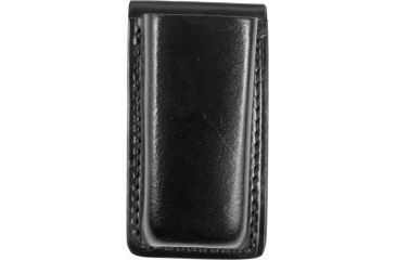 Bianchi 20A Open Magazine Pouch, Plain Black - Glock 17, 19, 22, 23, S&W SW9F - 18056