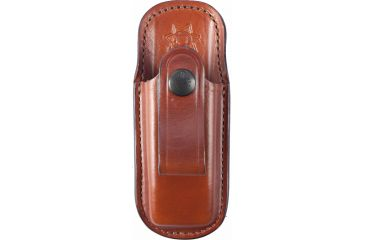 Bianchi 21 Single Magazine Pouch, Russet - Glock 17, 22, 23, .40, 9mm - 2317