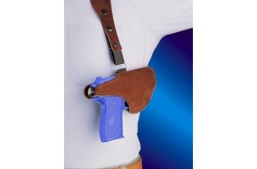 9-Bianchi 215 Hawk Shoulder Holster - Suede, Left Hand 15552