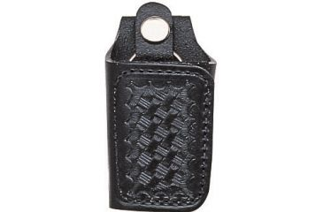 Bianchi 31C Covered Key Holder - Plain Black, Brass 15667