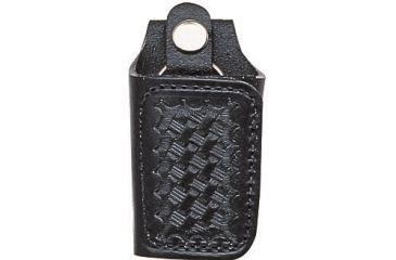 Bianchi 31C Covered Key Holder - Plain Black, Chrome 15665
