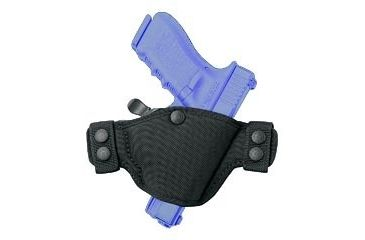 Bianchi 4584 Evader Holster - Black, Right Hand 23898