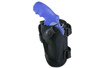 Bianchi 4750 Ranger Triad Ankle Holster - Black, Right Hand 19748