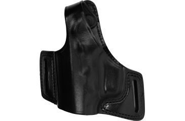 Bianchi 5 Black Widow Holster - Plain Black, Left 15717