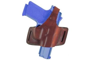 Bianchi 5 Black Widow Holster - Plain Black, Left Hand 15723