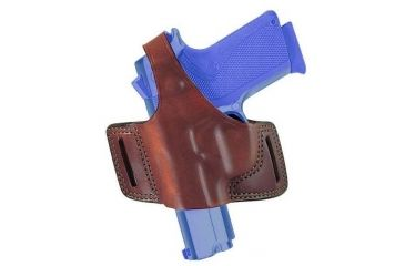 Bianchi 5 Black Widow Holster - Plain Tan, Left Hand 18247