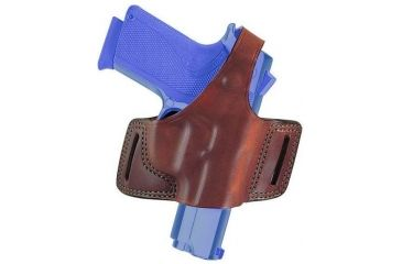 Bianchi 5 Black Widow Holster - Plain Tan, Left Hand 12840