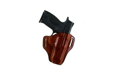 Bianchi 57 Remedy Leather Pancake Holster, S&W M&P 9mm/.40/.45 - Black, Right Hand