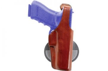 Bianchi 59 Special Agent Holster - Plain Tan, Right Hand 22570