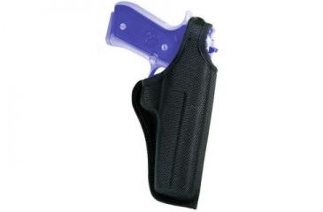 Bianchi 7001 AccuMold Thumbsnap Holster - Black, Right Hand 18764