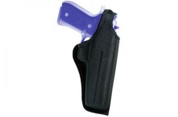 Bianchi 7001 AccuMold Thumbsnap Holster - Black, Right Hand 19844