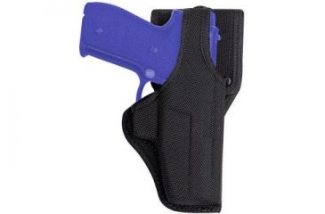 Bianchi 7115 AccuMold Vanguard Duty Holster - Black, Left Hand 18544