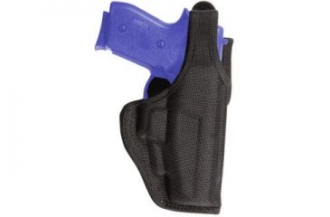 Bianchi 7120 AccuMold Defender Duty Holster - Black, Left Hand 18291