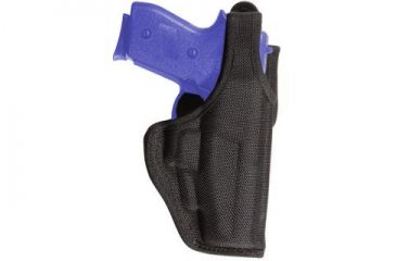 Bianchi 7120 AccuMold Defender Duty Holster - Black, Left Hand 18777