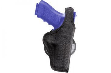 Bianchi 7500 AccuMold Paddle Holster - Black, Left Hand 18825