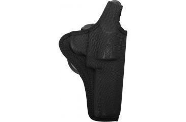 Bianchi 7500 AccuMold Paddle Holster - Black, Right Hand, Colt Python 4in and Similar 18806