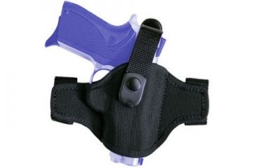 Bianchi 7506 AccuMold Belt Slide Black Right Hand Holster - Walther PPK and Similar Size Pistols