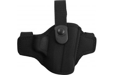 Bianchi 7506 AccuMold Belt Slide Holster, Black, Right 17858